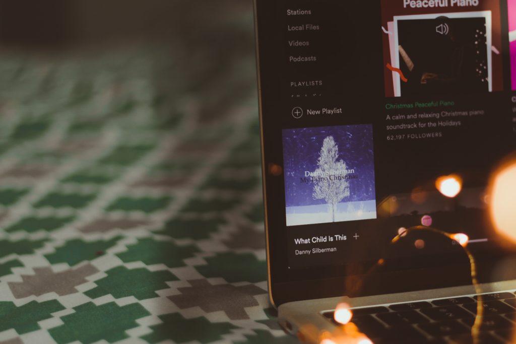 Make a holiday playlist
